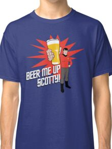 Beer Me Up Scotty Classic T-Shirt