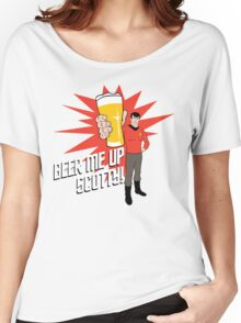Beer Me Up Scotty Women's Relaxed Fit T-Shirt