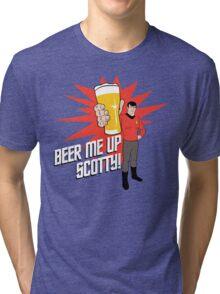 Beer Me Up Scotty Tri-blend T-Shirt