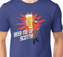 Beer Me Up Scotty Unisex T-Shirt