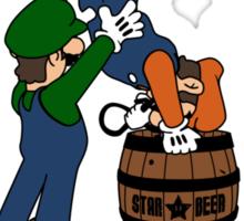 Super Smashed Bros Sticker