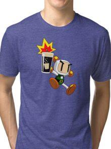 Irish Carbomber Man Tri-blend T-Shirt