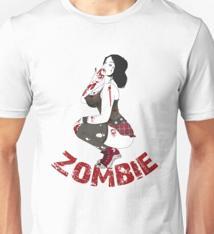 Zombie Pinup Unisex T-Shirt