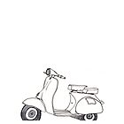 Vespa - the Italian classic by Rowland Jones