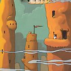 Mud Towers by Chris-Garrett