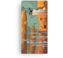 Mud Towers Canvas Print