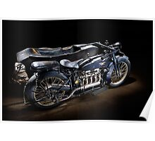 an ACE motorcycle combination Poster