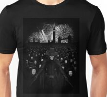 V for Vendetta Unisex T-Shirt