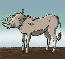 Lonely Warthog by Chris-Garrett