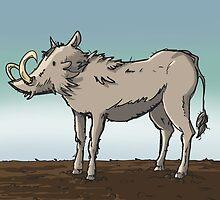Lonely Warthog by Chris-Garrett