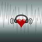 Listen to the Heart Beat(iphone/ipod) by ScaleDesigns