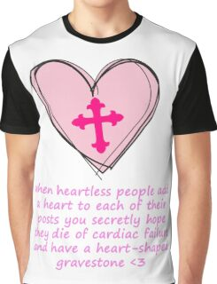 HEARTLESS PEOPLE Graphic T-Shirt