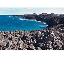 Rocky Coastline Photographic Print