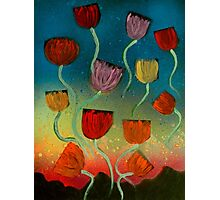 Tulips Ascending Photographic Print