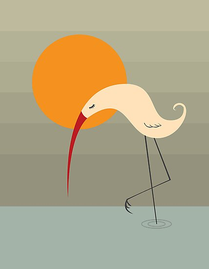 Bird and Sun by volkandalyan