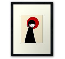 Redd Moon Framed Print
