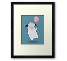 My Little Baloon Framed Print