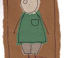 Brown paper boy by Jonesyinc