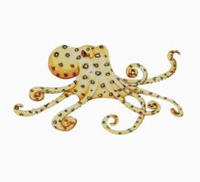 Blue-Ringed Octopus One Piece - Long Sleeve