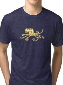 Blue-Ringed Octopus Tri-blend T-Shirt