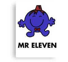 Mr Eleven Canvas Print
