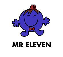 Mr Eleven Photographic Print