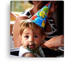 """""""It's My Party !!!"""" Canvas Print"""