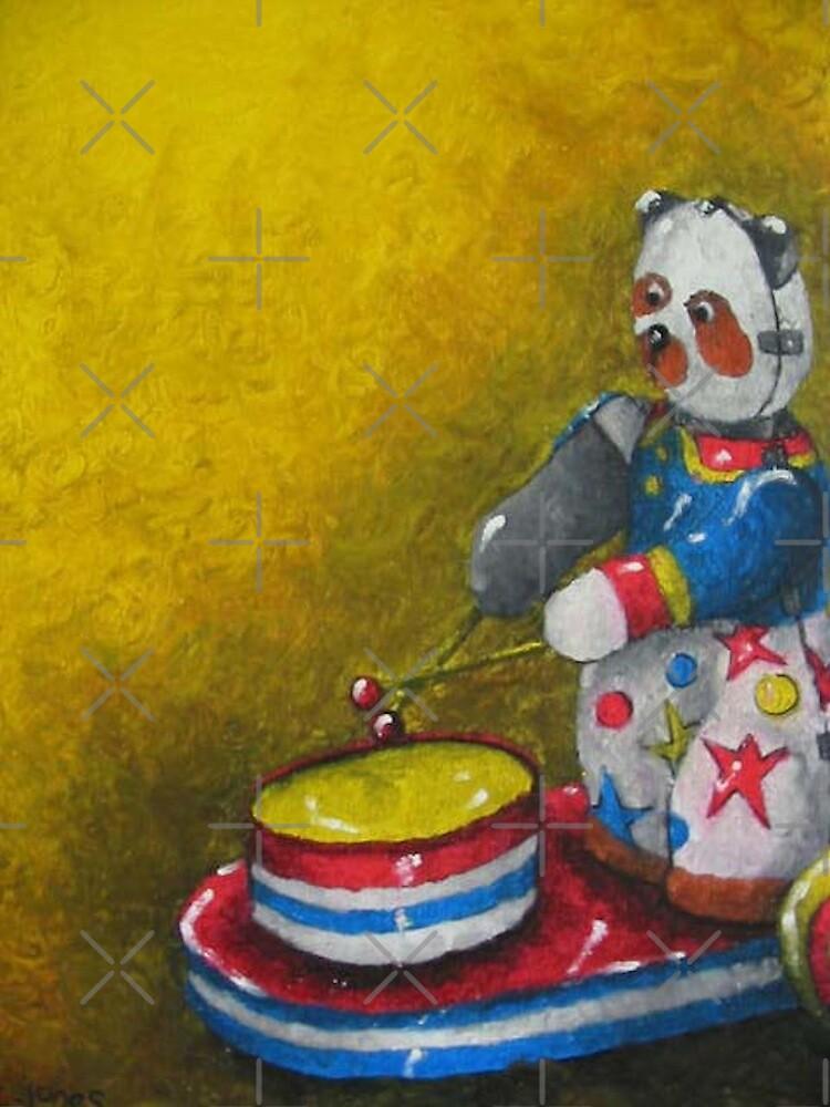 Wind up Panda toy by Jonesyinc