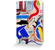 Abstract #16 Greeting Card