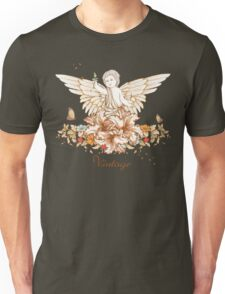 Vintage Floral Cherub Unisex T-Shirt