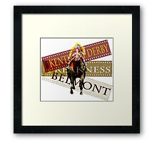 Triple Crown Horse Racing Framed Print