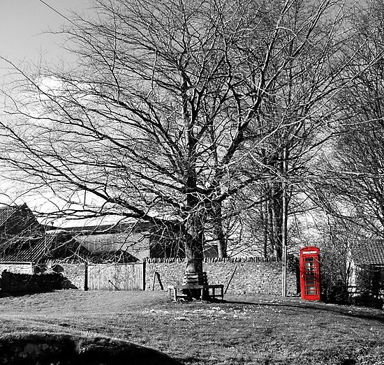 The Village Green at Cold Kirby by Rachel Down