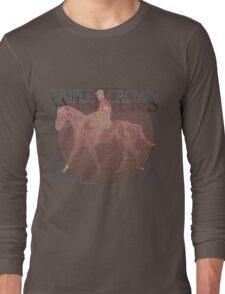 Vintage Triple Crown Winners Long Sleeve T-Shirt