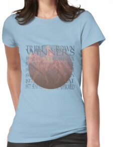 Vintage Triple Crown Winners Womens Fitted T-Shirt