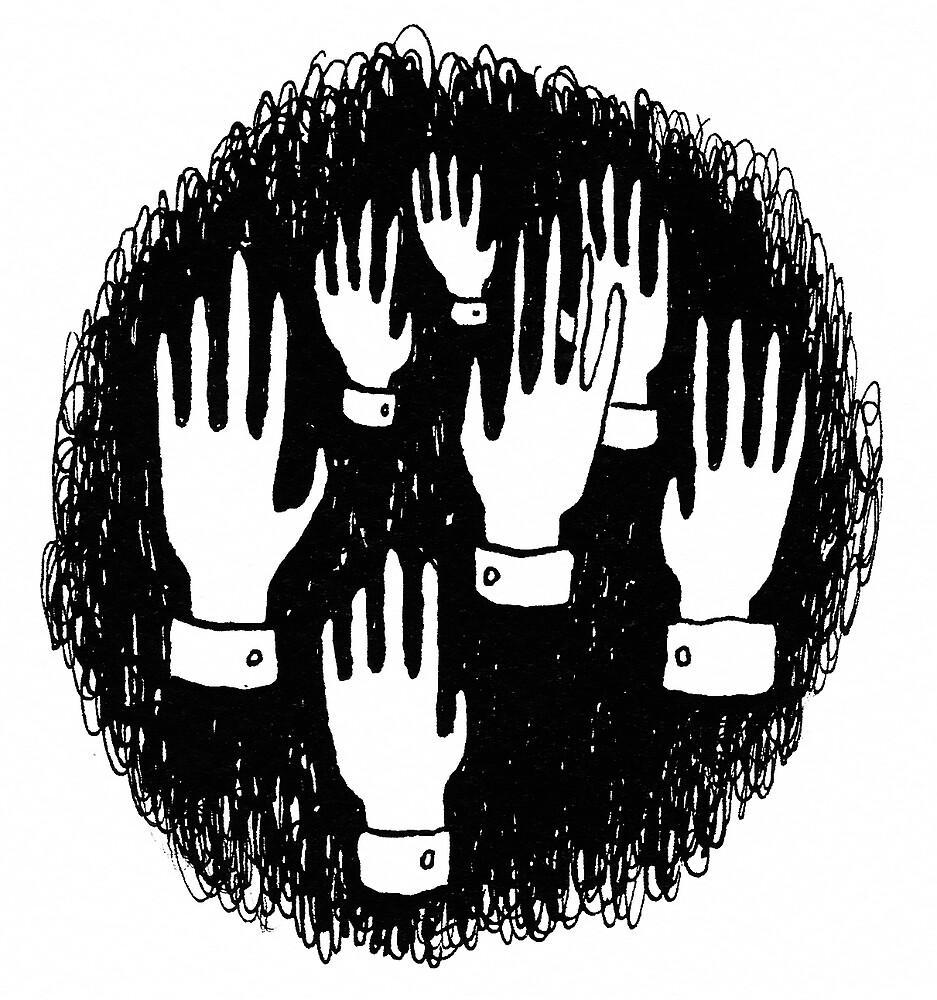The hands forest by Julie Maggi