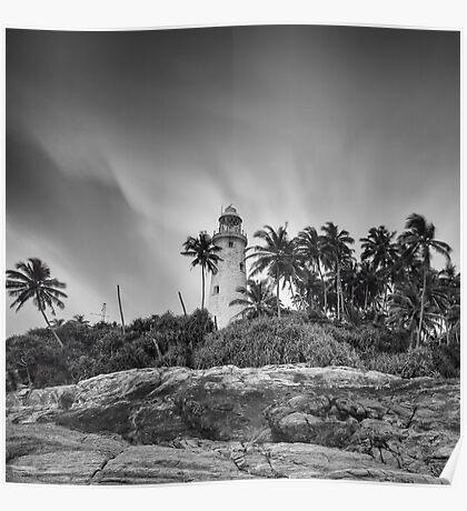 Beruvella lighthouse Poster