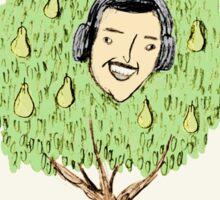 Alan Partridge in a Pear Tree Sticker