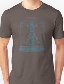 Vitruvian Cyborg Unisex T-Shirt