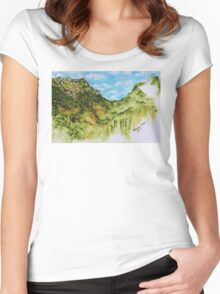 Altenberg Women's Fitted Scoop T-Shirt