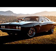 FF7 (Fast and Furious 7) Dom's Charger by MalikofArts