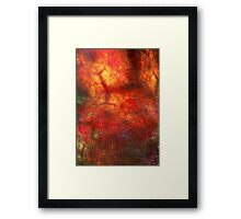 Colors Lights and Shadows Framed Print