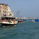 Vaporetto Venice by Mark Baldwyn