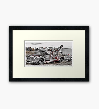 Break Down Framed Print