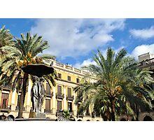 Plaza Real Photographic Print