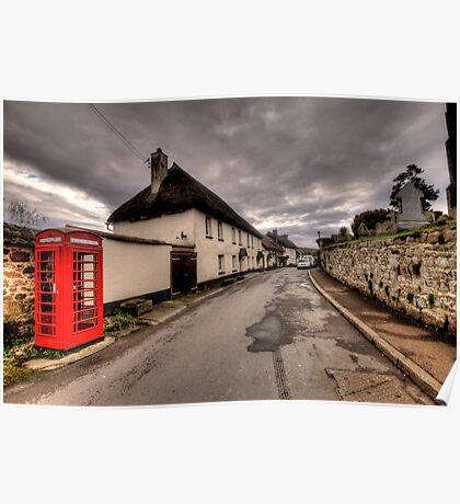 Dunsford Village Poster