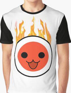 taiko fire Graphic T-Shirt