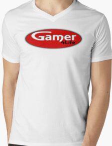 Gamer 4 Life Mens V-Neck T-Shirt