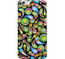 Abstract Colorful Drops iPhone Case/Skin
