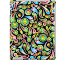 Abstract Colorful Drops iPad Case/Skin