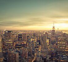 New York City - Skyline Cityscape by Vivienne Gucwa